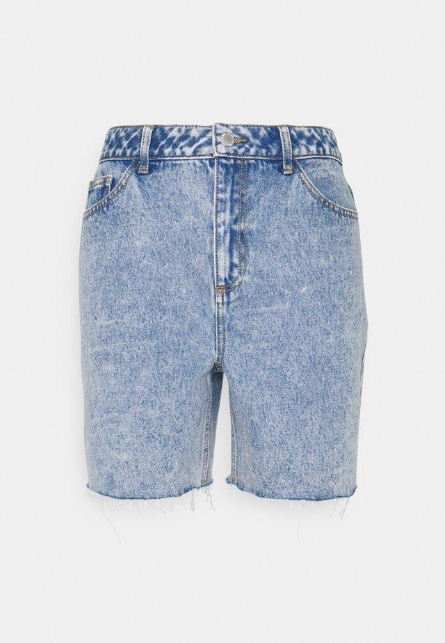 BYKATO BYBCKISHA - Denim shorts - ligth blue denim