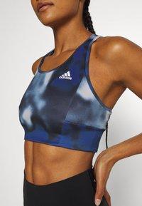 adidas Performance - AEROREADY WORKOUT BRA LIGHT SUPPORT - Sujetadores deportivos con sujeción media - royal blue/white - 5