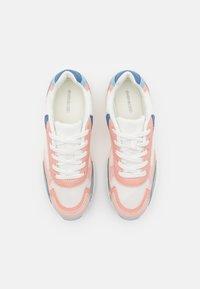 Even&Odd - Sneakersy niskie - white/light pink/blue - 4