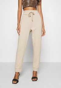 KENDALL + KYLIE - Tracksuit bottoms - beige - 0