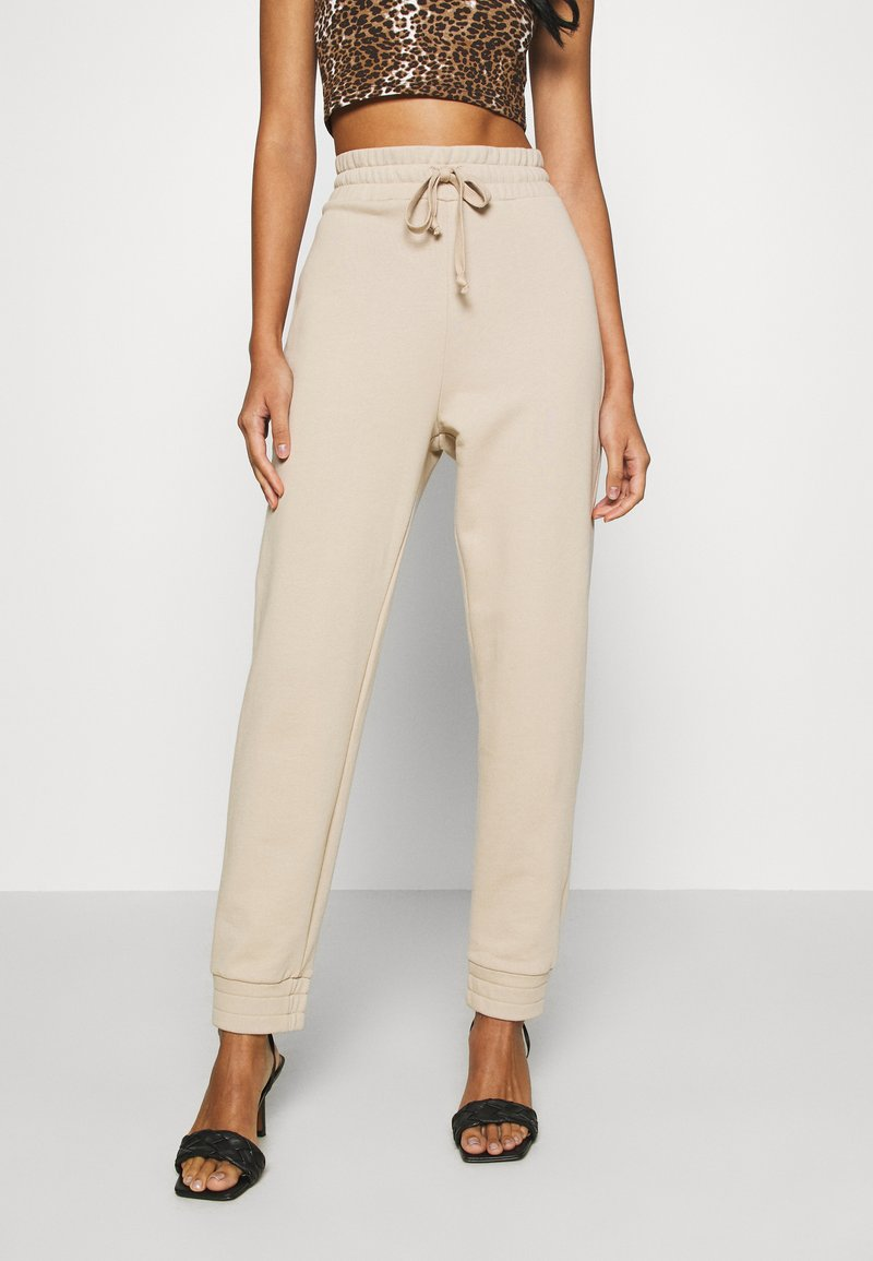 KENDALL + KYLIE - Tracksuit bottoms - beige