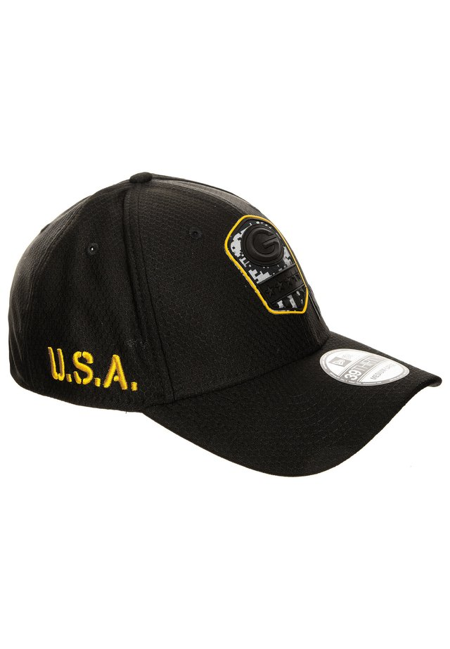 39THIRTY NFL SALUTE TO SERVICE GREEN BAY PACKERS CAP - Cap - black