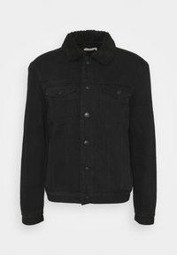 ALDER JACKET - Džínová bunda - black