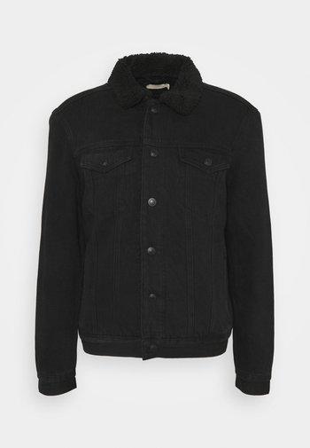 ALDER JACKET - Denim jacket - black