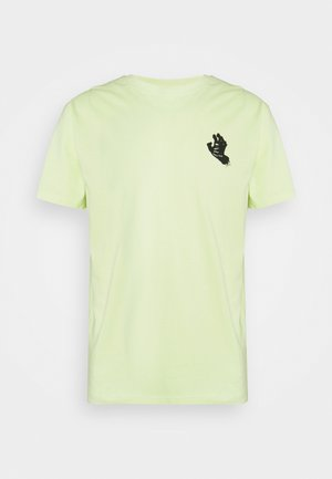 MONO HAND EXCLUSIVE  - T-shirt con stampa - mint