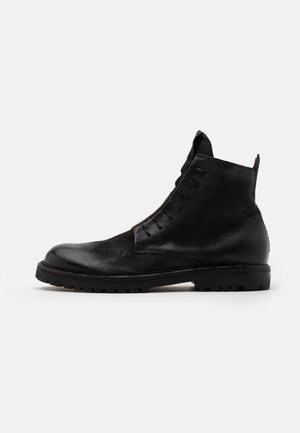 CAMDEN - Lace-up ankle boots - nero