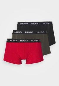 HUGO - TRUNK TRIPLET 3 PACK - Culotte - black - 5
