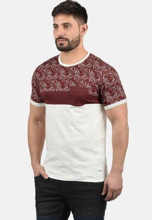 FLORIAN - T-shirts print - wine red