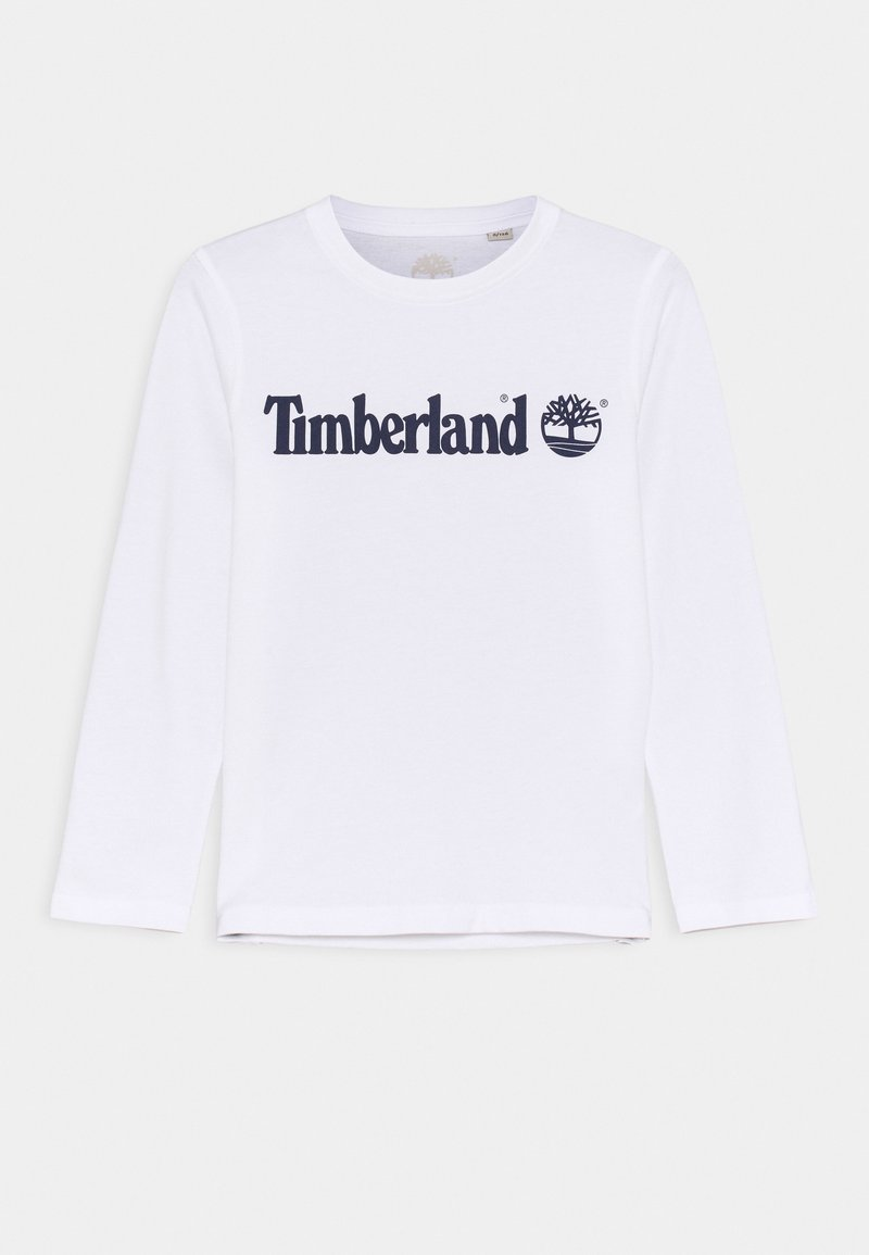 Timberland - LONG SLEEVE - Camiseta de manga larga - white