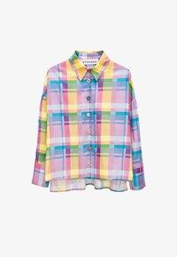 Uterqüe - Button-down blouse - pink - 5