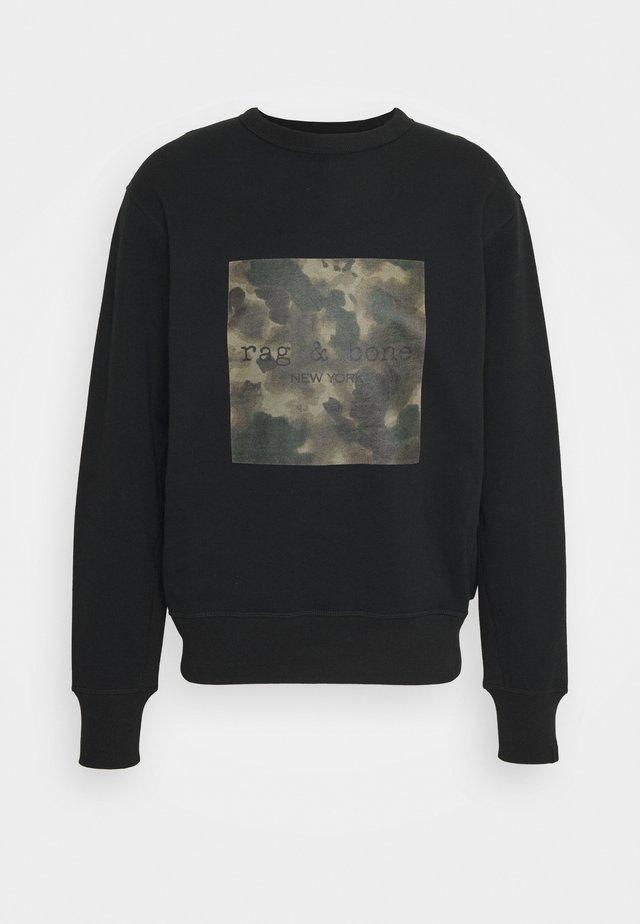 INK CAMO LOGO - Sweatshirt - black