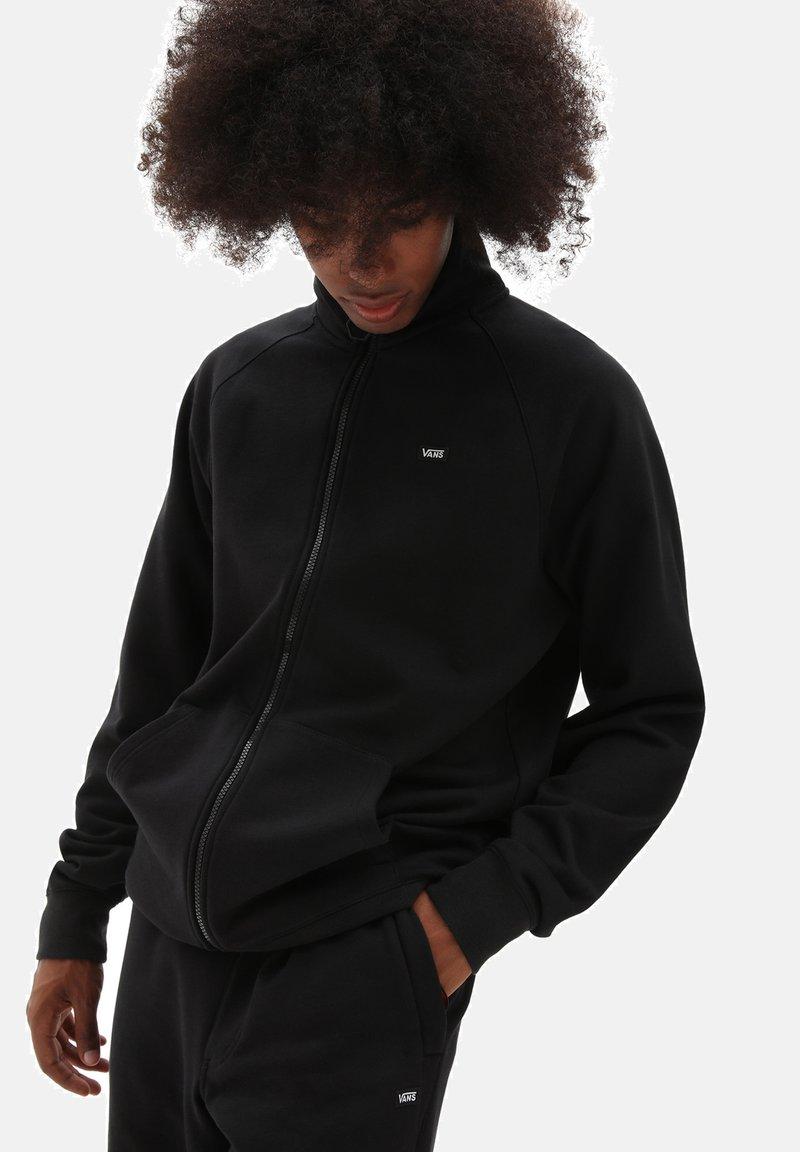 Vans - Zip-up hoodie - black