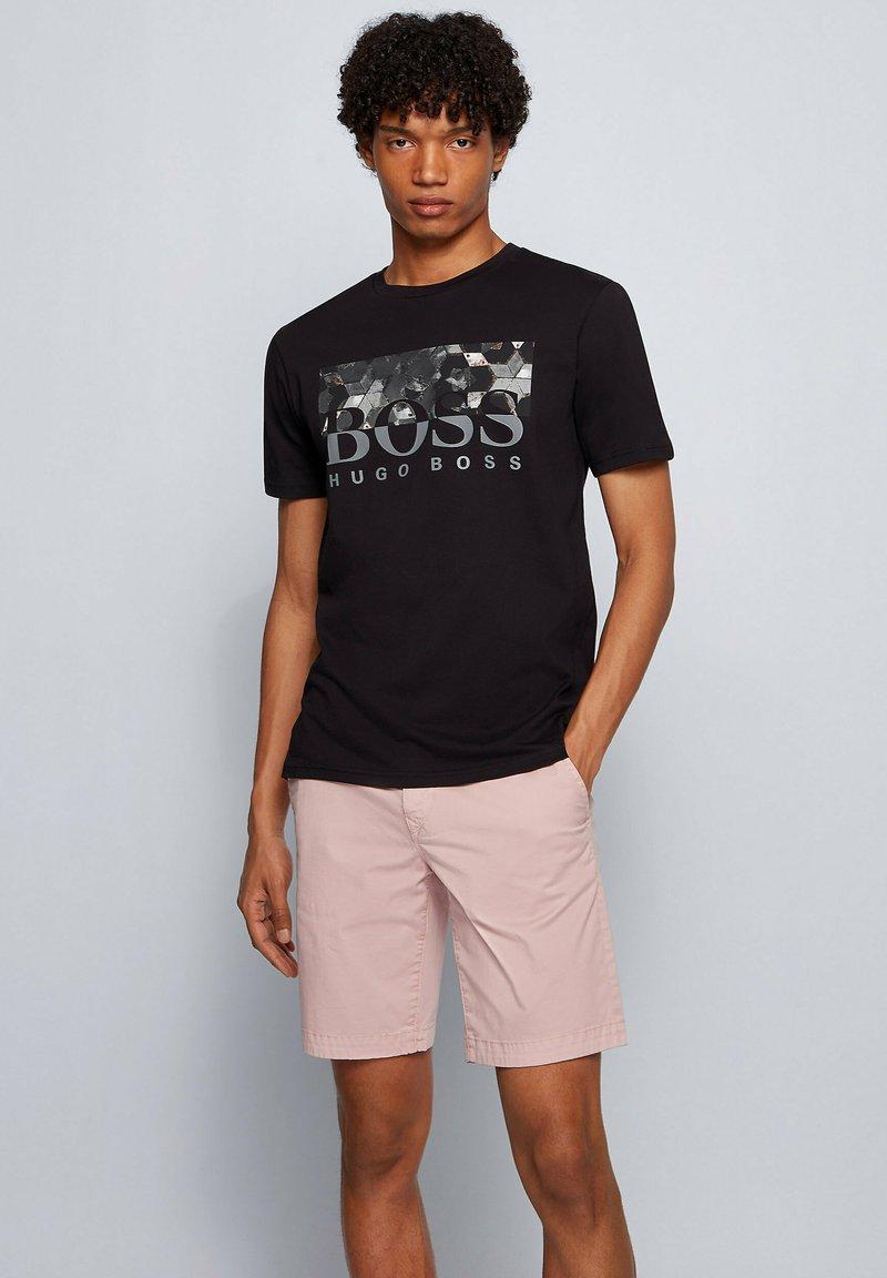 BOSS - TEALLY - T-shirt print - black
