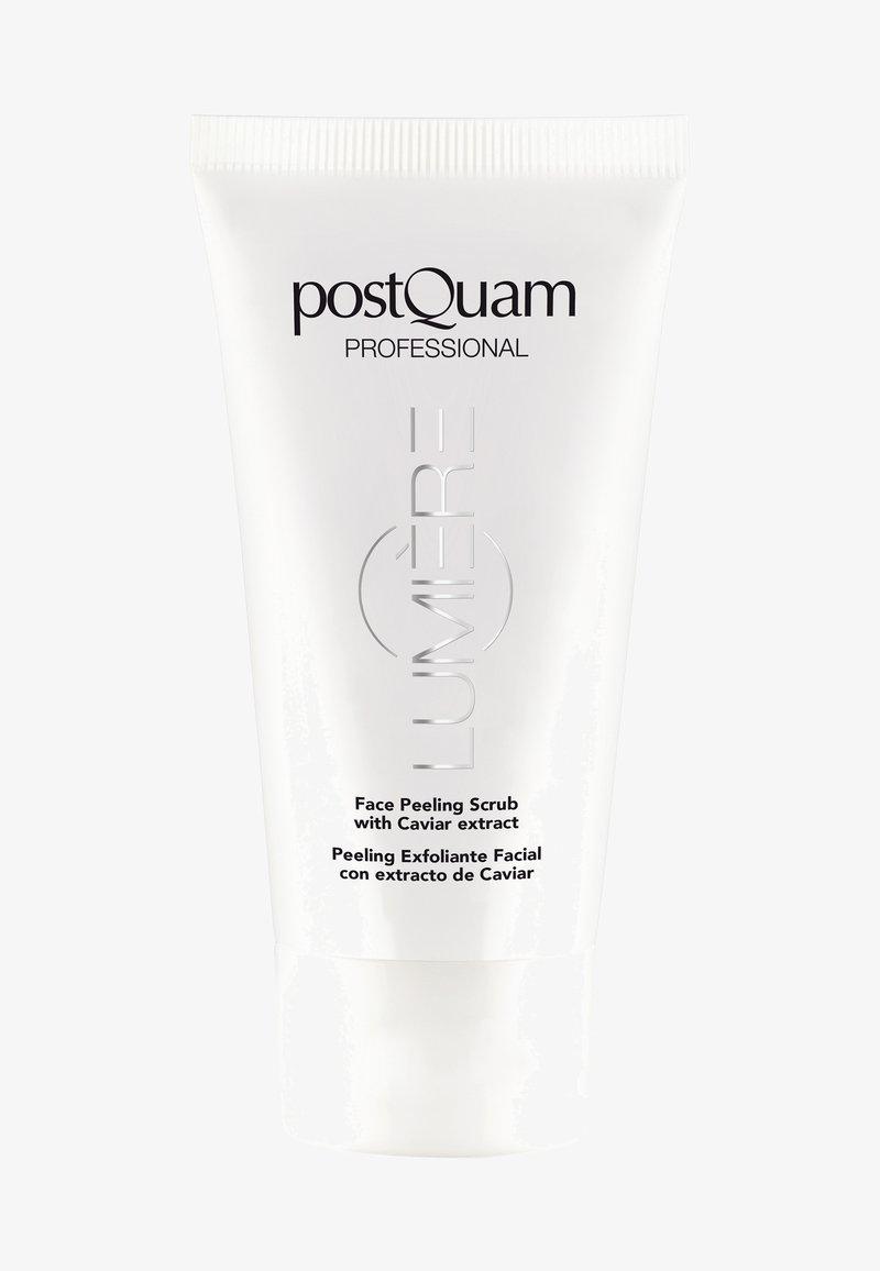PostQuam - SKIN CARE LUMIÈRE FACE PEELING SCRUB WITH CAVIAR 75ML - Face scrub - -