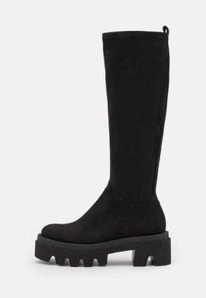 STYLE - Platform boots - schwarz