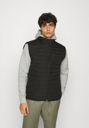 LIGHTWEIGHT PUFFER VEST - Vest - true black