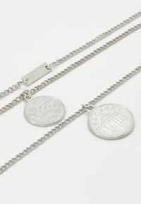 Urban Classics - LAYERING NECKLACE AMANDA - Necklace - silver-coloured - 2