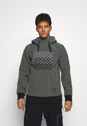 SNOW TECH HOOD - Laskettelutakki - charcoal