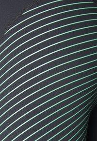 La Sportiva - SUPERSONIC PANT  - Tights - black/grass green - 2