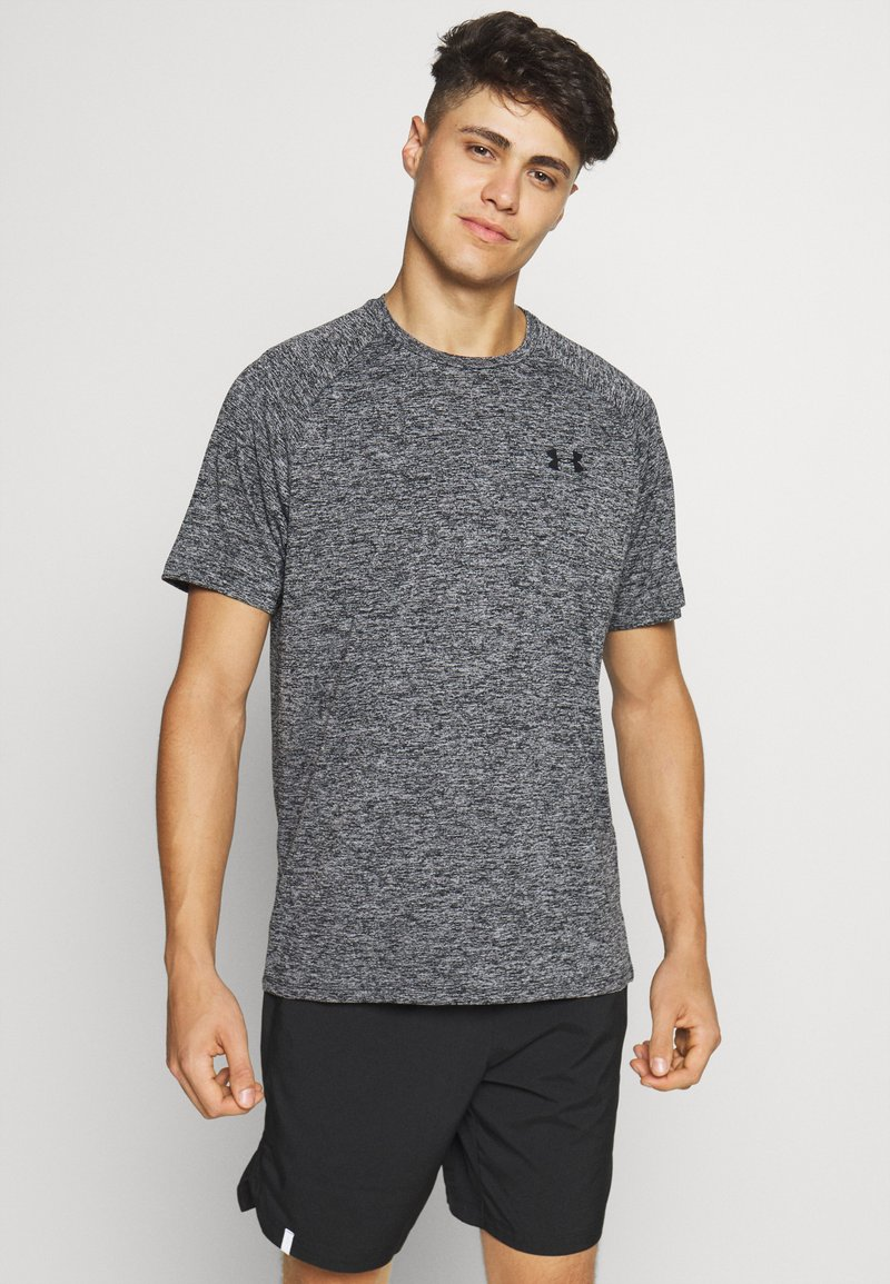 Under Armour - TECH TEE - Basic T-shirt - black