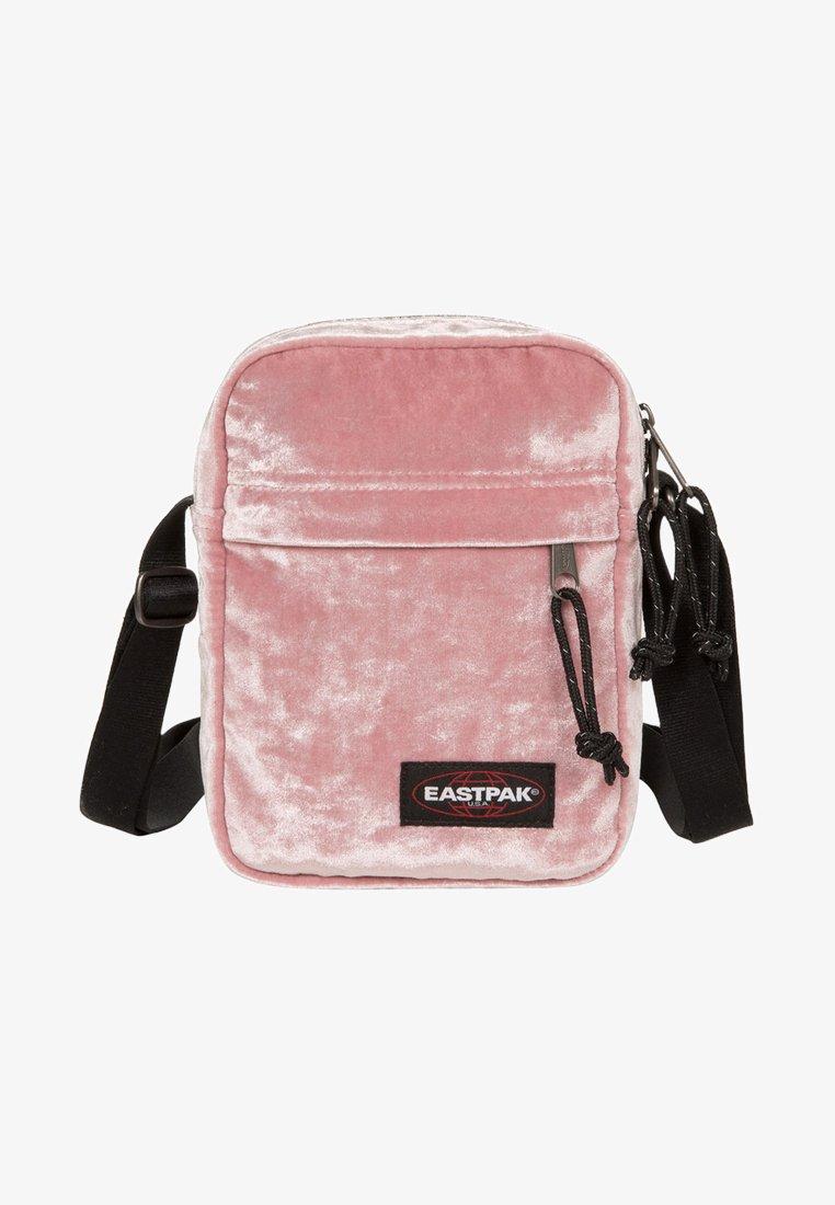 Eastpak - PINK CRUSHED - Axelremsväska - pink crushed