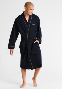 BOSS - AUTHENTIC - Dressing gown - dark blue - 1