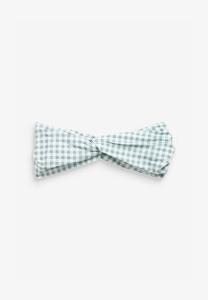 GINGHAM TWIST - Ear warmers - green
