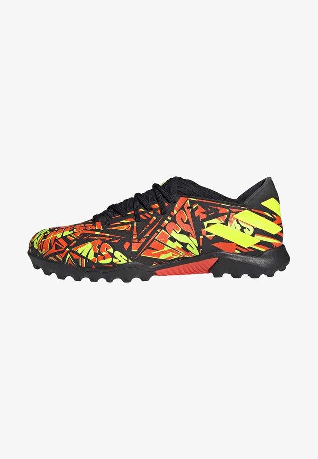 Chaussures de foot multicrampons - orange
