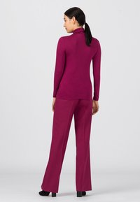 HALLHUBER - Long sleeved top - cassis - 2