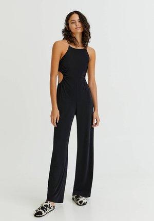 Overall / Jumpsuit /Buksedragter - mottled black