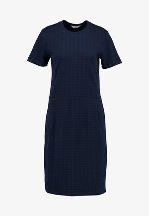 TONE DIELLA - Jersey dress - navy/navy