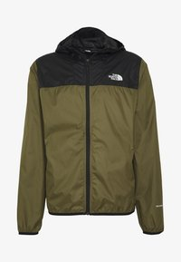The North Face - MENS CYCLONE 2.0 HOODIE - Vodotěsná bunda - black/burnt olive grn