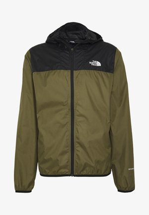 MENS CYCLONE 2.0 HOODIE - Waterproof jacket - black/burnt olive grn