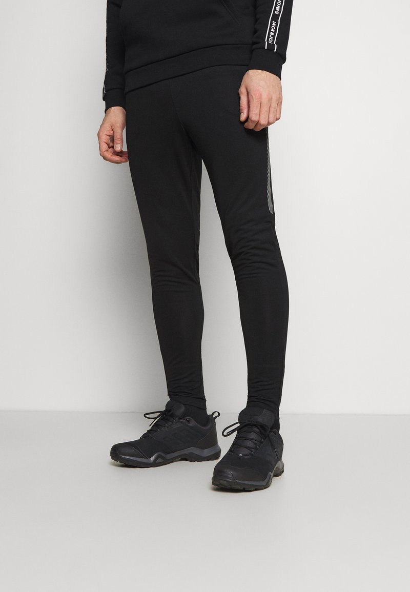 Jack & Jones - JCORUNNING PANTS  - Tracksuit bottoms - black
