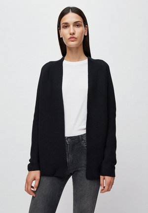 MAASHAA - Strickjacke - black