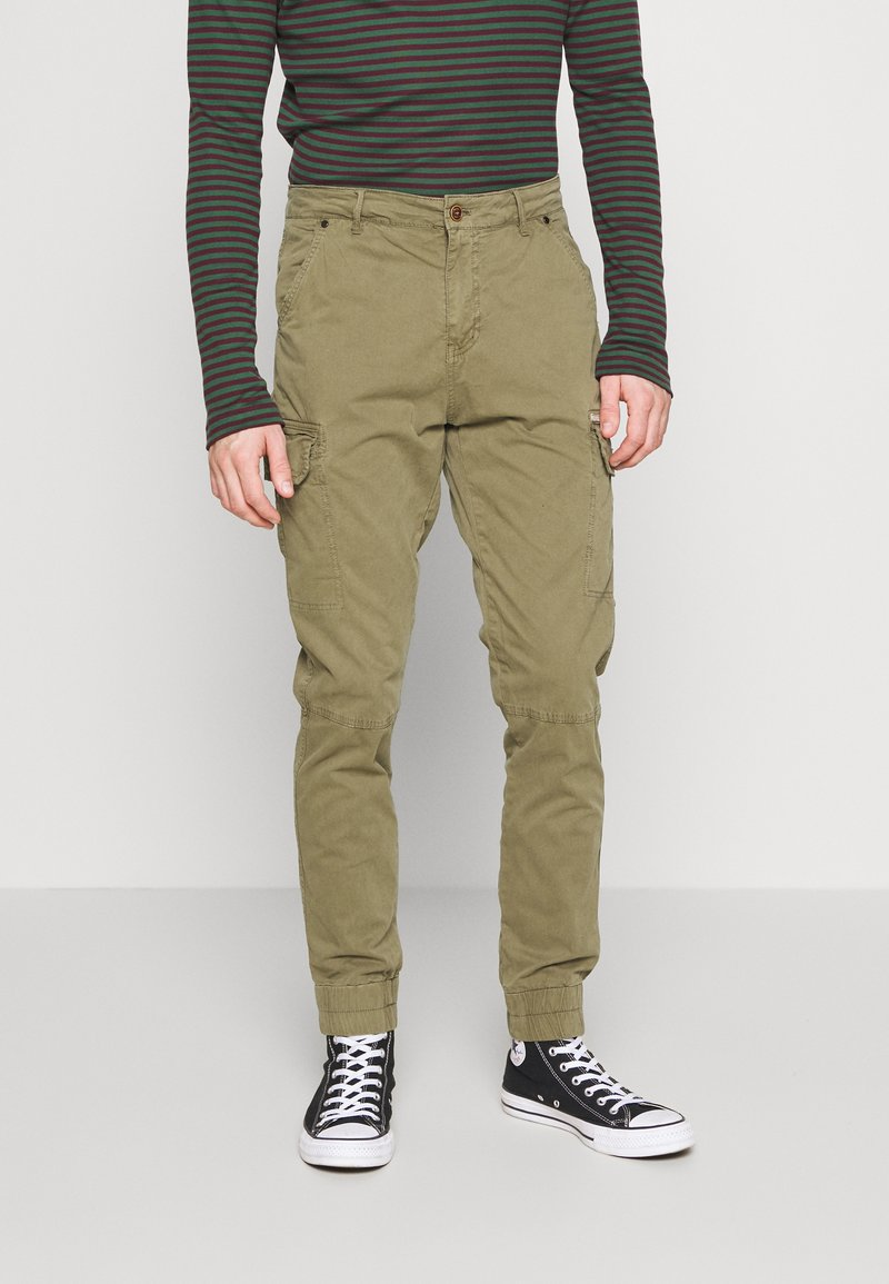 Blend - Cargo trousers - martini olive