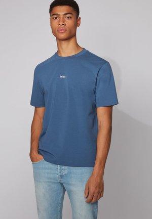 TCHUP - Print T-shirt - dark blue