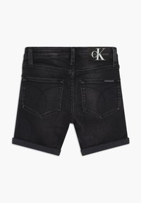 Calvin Klein Jeans - SLIM - Short en jean - black - 1