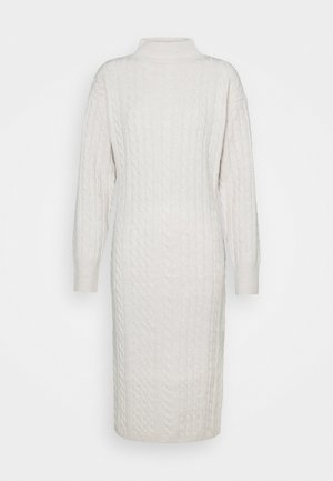 JOANSIE - Pletené šaty - cream