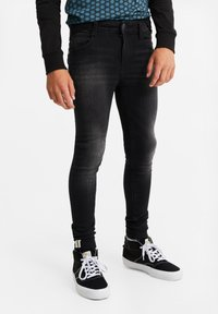 WE Fashion - Jeans Skinny Fit - black - 1