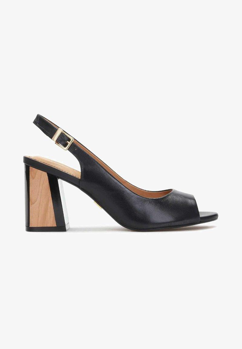 Kazar - Peep toes - black