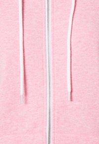 Even&Odd - Slim Fit Zip Sweat Jacket - Sweater met rits - mottled rose - 2