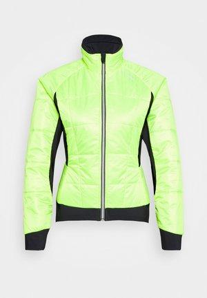 BIKE ISO JACKET HOTBOND - Winterjas - neon yellow