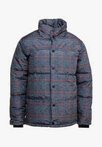 Topman - PLAID CHECK PUFFER - Winterjas - blue - 4