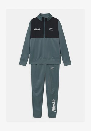 AIR TRACK SUIT SET UNISEX - Trainingspak - ozone blue/black