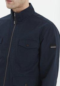 Solid - Light jacket - insignia blue - 3