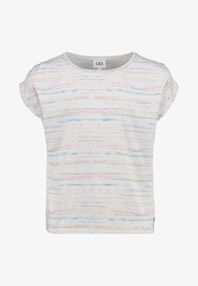 DALIDA - Print T-shirt - off white