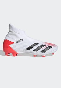 adidas Performance - PREDATOR 20.3 FIRM GROUND BOOTS - Moulded stud football boots - white - 5