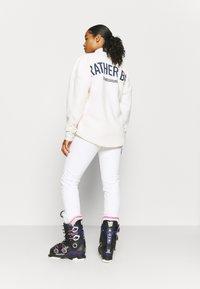 Luhta - JOENTAKA - Snow pants - optic white - 2