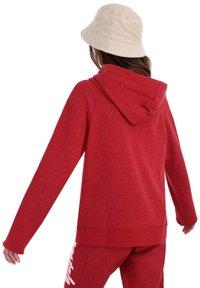 AÉROPOSTALE - Zip-up hoodie - red - 2